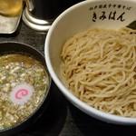江戸前煮干中華そば きみはん - 梅香る煮干しつけ麺(大盛り300g)味玉付き¥950