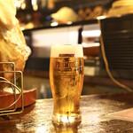 バール aBuku - ☆生ビール 500円