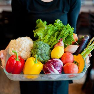 毎日市場から直送の旬の素材を生かした料理へのこだわり!