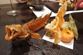 郷土味 かけはし - ドギの天ぷら
