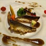 オー・グルマン - 本日の魚介の料理(鮎)