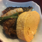 70249200 - 鯖の塩焼き,だし巻き玉子,茄子の煮物