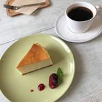 方南カフェ - ニューヨークチーズケーキ&ブレンドコーヒー