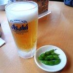 天下一品 - 生ビール