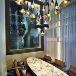 ラ ベデュータ - ラ ベデュータ・プリベは、6名用の1テーブルを備えたプライベートルーム