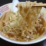 長尾中華そば - 中太麺