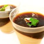ケーキファクトリー ママゴコロ - 料理写真:NEW★ミカフェート社のコーヒー豆から作ったこだわりたっぷり珈琲ゼリー&ムース♫贅沢な珈琲ゼリーです。