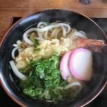 おがわうどん - 料理写真:天ぷらうどん500円