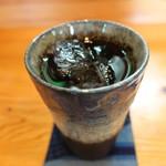 カフェ マニマニ - アイスコーヒー