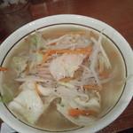 ベジ麺処 鶻 - タンメン