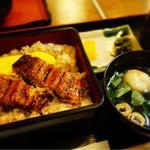Kameya - サービスうな丼 ¥1,080
