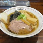 らー麺 山さわ - あっさり煮干らーめん(700円)