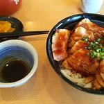 海鮮処 海門 - マグロステーキ丼