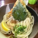 麺こい - 料理写真:天ぷらぶっかけ冷(1.5玉)