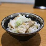 ラーメン HARU - チャーシュー御飯☆