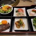 肉の割烹 田村 - おすすめ御膳(2100円)