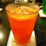 ストーン  - オレンジジュース