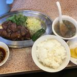 ひろ - カルピ焼肉定食 1300円