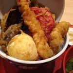 えびのや - 鱧と夏野菜天丼(1,058円)