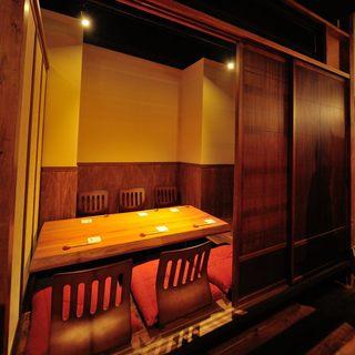 【個室が充実】夜景の見える個室、掘りごたつ個室、ロフト席も◎