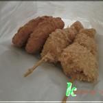 肉の小谷野 - 料理写真:コロッケとポテトフライ