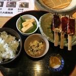 70268224 - 菜飯田楽セット