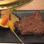 肉の割烹 田村 - 特選サーロインステーキ