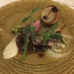 サヴール - 本日のお肉料理(鹿肉・桜肉)