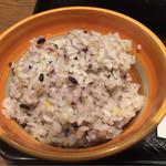 70273654 - 白米から雑穀米に変更