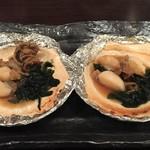 函館開陽亭 すすきの レストランプラザ店 - ほたて焼き