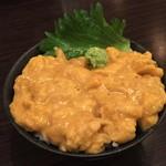 函館開陽亭 すすきの レストランプラザ店 - 塩水うに丼