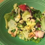 おぼんdeごはん - タコとアボカドのサラダ