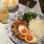 台湾料理 雅致 - 料理写真:でたー!これが台湾ルーローファンや!!