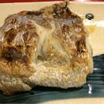 めしの助 - 焼魚(太刀魚)のアップ