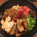 ふくのとり - 料理写真: 限定  福島鶏白湯 海老の香る味噌まぜそば  880円