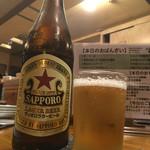 しじみ - 瓶ビール600円