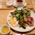 Pietro YASAI Café Deli&Pasta 京橋店 - デリ・パスタセット