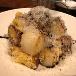 バール ハグ - レンコン、長芋、なると金時のチーズ焼き