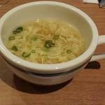 ステーキハウス ブロンコ ビリー - ランチスープ