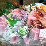 海鮮個室居酒屋 魚之介 川崎本店 - 直送鮮魚のお刺身・海鮮しゃぶ鍋プラン10品(4000円コース)