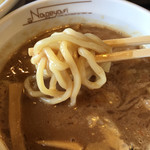 らーめんNageyari - モチモチの太麺