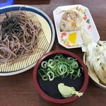 黒田藩 - 料理写真:ざるそばセット=540円