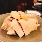 慶楽 - 白切鶏でこんぬつわ、