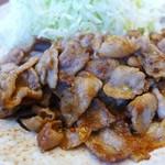 ふる川 - 豚肉ニンニク炒め