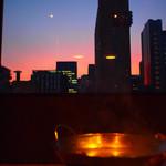 個室和食 三河屋 - 夕焼けとお鍋