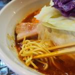 らーめん 五ノ神製作所 - 麺アップ