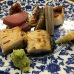 割鮮 のむら - 料理写真:海鰻と鱸
