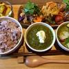 グリーンマンゴー - 料理写真:カレープレート
