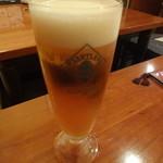 イタリアン居酒屋 にんたま屋台 - 生ビール