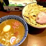 俺の麺 春道 - 海老つけ麺+味玉(800円+100円)